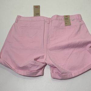 Levi's Shorts - NWT Womens Size 16 Levis Pink Classic Chino Shorts